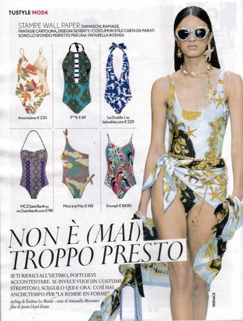 Tustyle Magazine November 2015 Issue: TU STYLE Magazine 15.05.2018 ( Lidia Glam Kyoto Swimsuit